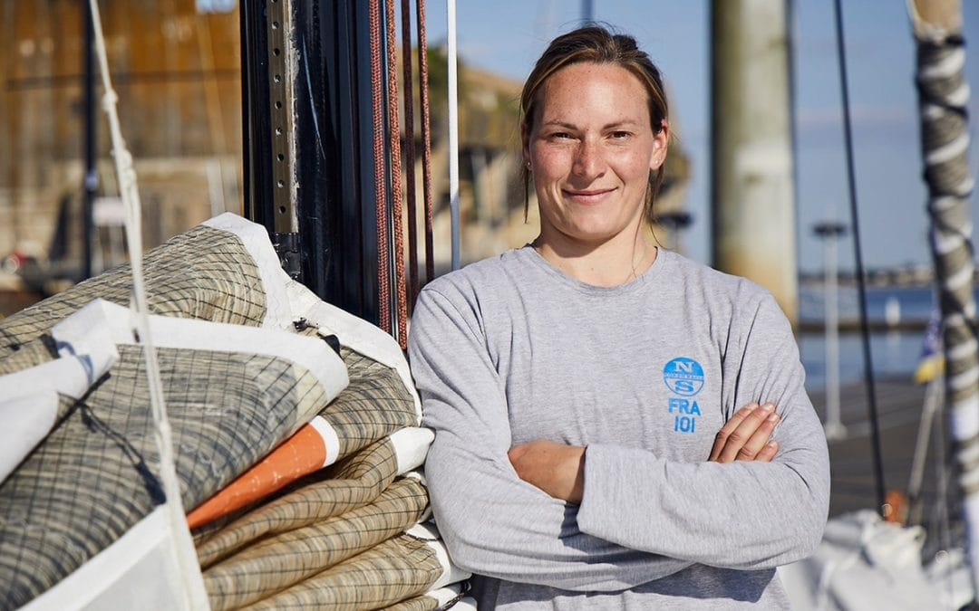 Estelle Greck, partenaire Icodia : portrait d'une navigatrice passionnée