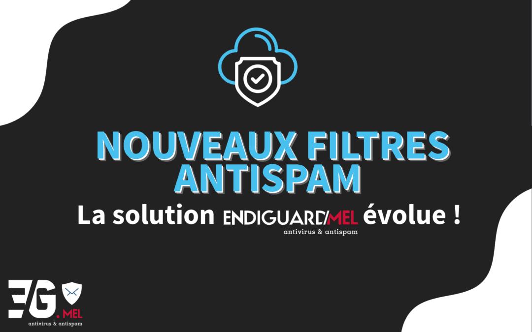 Notre solution de filtrage antivirus et antispam EndiGuard.Mel évolue !