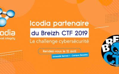 Icodia partenaire du Breizh CTF 2019