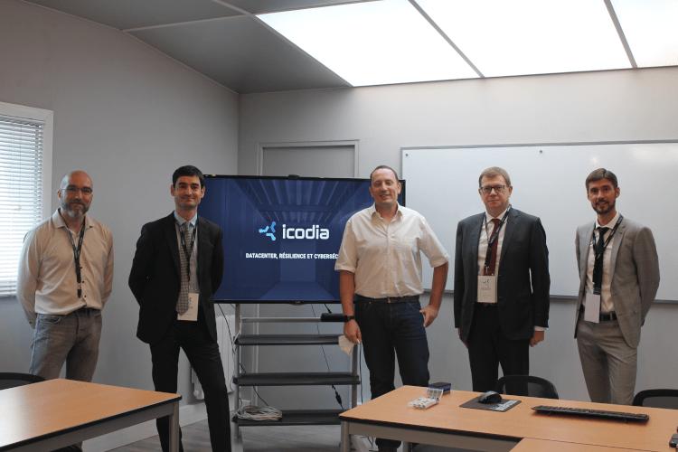 Une délégation officielle à l'écoute d'Icodia : un échange constructif