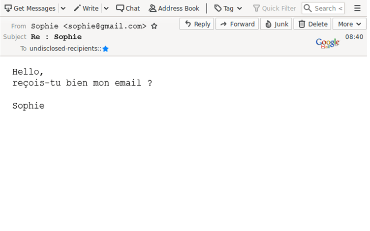 Recrudescence des tentatives d'arnaques via des comptes e-mail piratés