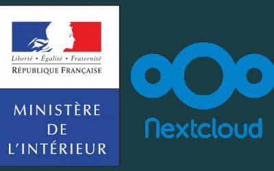 Le ministère de l'Intérieur opte pour Nextcloud
